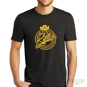 DogDayz Apparel - Tee - AYR Rifles - Men - Black