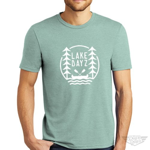 DogDayz Apparel - Tee -Lake Dayz - Men - Dusty Sage