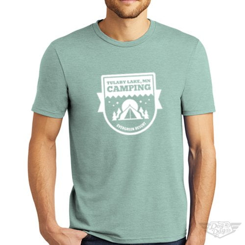DogDayz Apparel - Tee Lulaby Camp - Men - Dusty Sage