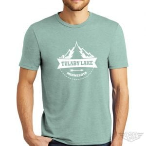 DogDayz Apparel - Tee Lulaby Tree - Men - Dusty Sage