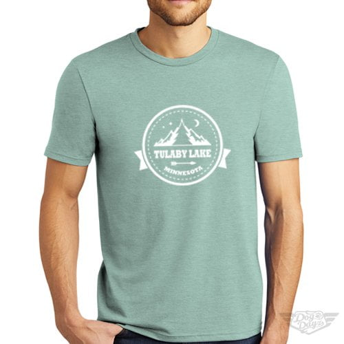 DogDayz Apparel - Tee Lulaby Circle - Men - Dusty Sage