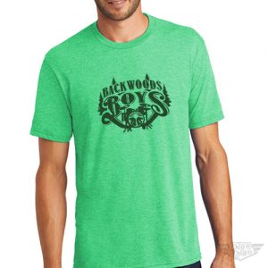 DogDayz Apparel - Tee -Backwood Boys - Men - Green Frost