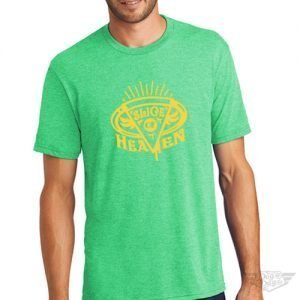 DogDayz Apparel - Tee -Slice of Heaven - Men - Green Frost