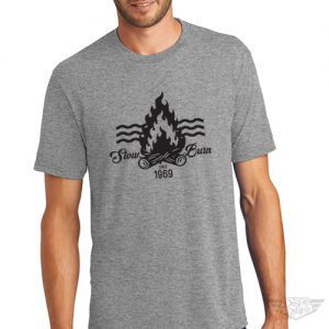 DogDayz Apparel - Tee -Slow Burn - Men - Heather Grey
