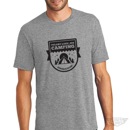 DogDayz Apparel - Tee Lulaby Camp - Men - Heather Grey
