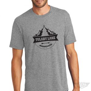 DogDayz Apparel - Tee Lulaby Tree - Men - Heather Grey