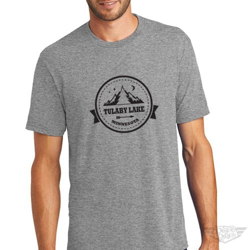 DogDayz Apparel - Tee Tulaby Circle - Men - Heather Grey