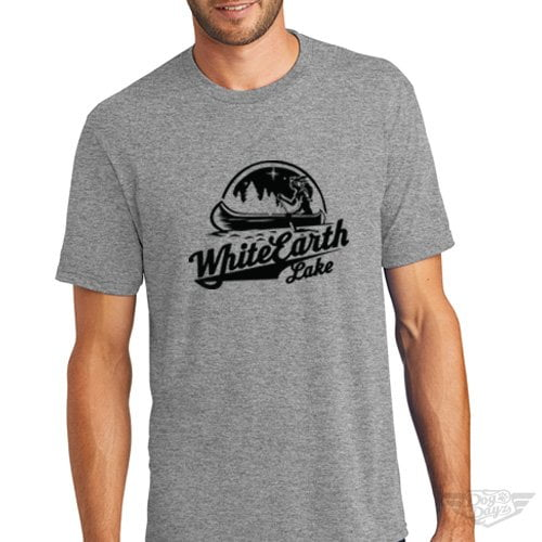 DogDayz Apparel - Tee White Earth - Men - Heather Grey