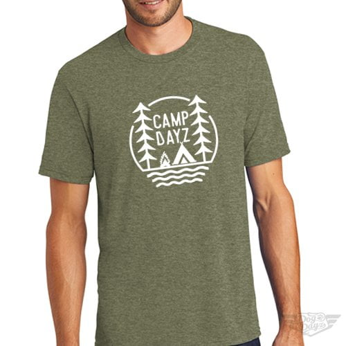 DogDayz Apparel - Tee -Camp Dayz - Men - Military Green