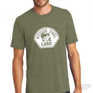DogDayz Apparel - Tee Otter Tail - Men - Military Green
