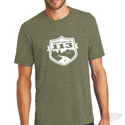 DogDayz Apparel - Tee Lulaby - Men - Military Green
