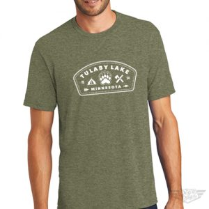 DogDayz Apparel - Tee Tulaby Patch - Men - Military Green