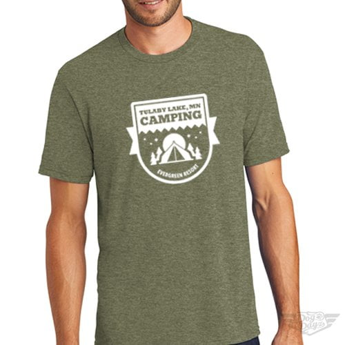 DogDayz Apparel - Tee Lulaby Camp - Men - Military Green