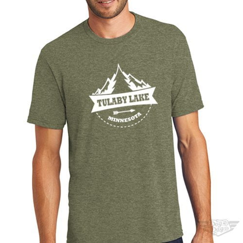 DogDayz Apparel - Tee Lulaby Tree - Men - Military Green