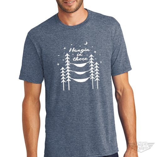DogDayz Apparel - Tee -Hangin In There - Men - Navy Frost