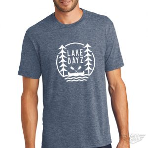 DogDayz Apparel - Tee -Lake Dayz - Men - Navy Frost