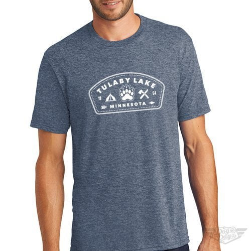 DogDayz Apparel - Tee Tulaby Patch - Men - Navy Frost