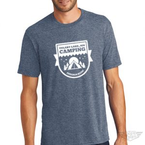 DogDayz Apparel - Tee Lulaby Camp - Men - Navy Frost