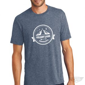 DogDayz Apparel - Tee Tulaby Circle - Men - Navy Frost