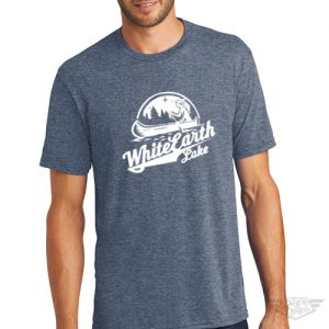 DogDayz Apparel - Tee White Earth - Men - Navy Frost