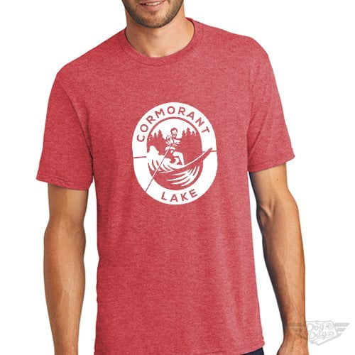 DogDayz Apparel - Tee Cormorant - Men - Red Frost