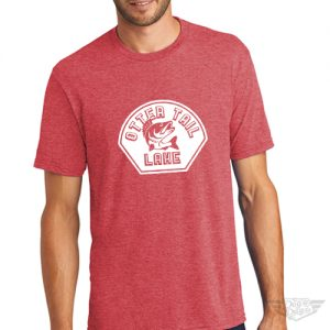DogDayz Apparel - Tee Otter Tail - Men - Red Frost