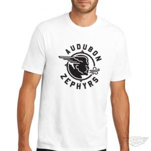 DogDayz Apparel - Tee - Audubon Zephyrs - Men - White