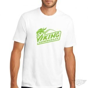 DogDayz Apparel - Tee -Viking Snowmobiles - Men - White