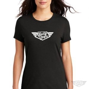 DogDayz Apparel - Tee - GloryDayz - Women - Black