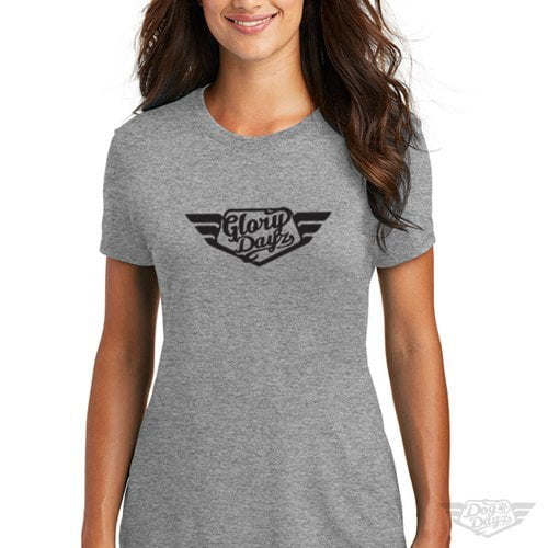 DogDayz Apparel - Tee - GloryDayz - Women - Grey Frost
