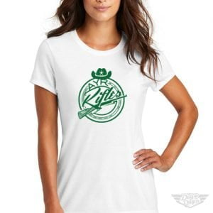 DogDayz Apparel - Tee - AYR Rifles - Women - White