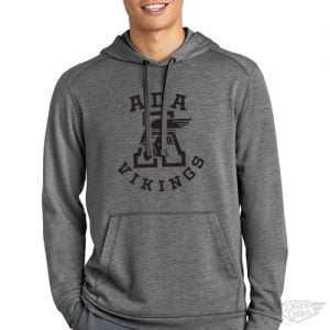 DogDayz Apparel - Sweatshirt - Ada Vikings - Men - Heather Grey