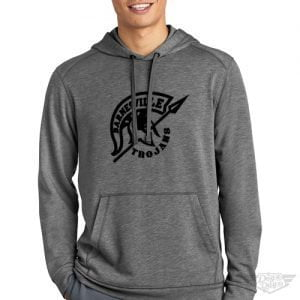 DogDayz Apparel - Sweatshirt - Barnesville Trojans - Men - Heather Grey