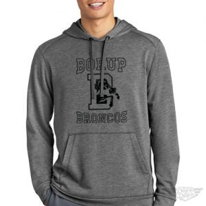 DogDayz Apparel - Sweatshirt - Borup Broncos - Men - Heather Grey