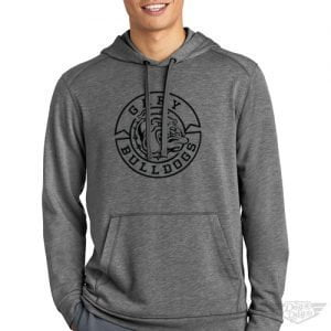 DogDayz Apparel - Sweatshirt - Gary Bulldogs - Men - Heather Grey