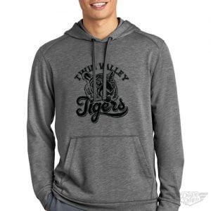 DogDayz Apparel - Sweatshirt - Twin Valley Tigers - Men - Heather Grey