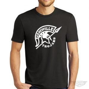 DogDayz Apparel - Tee - Barnesville Trojans - Men - Black