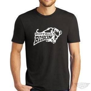 DogDayz Apparel - Tee - Buffalo Bison - Men - Black