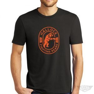 DogDayz Apparel - Tee - Hallock Fighting Bears - Men - Black