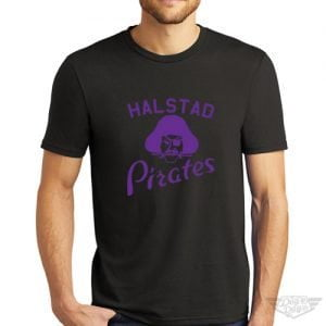 DogDayz Apparel - Tee - Halstad Pirates - Men - Black