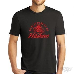 DogDayz Apparel - Tee - Hendrum Huskies - Men - Black