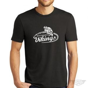 DogDayz Apparel - Tee - Hitterdal Vikings - Men - Black