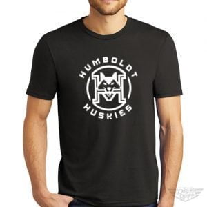 DogDayz Apparel - Tee - Humboldt Huskies - Men - Black