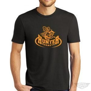 DogDayz Apparel - Tee - Hunter Hornets - Men - Black