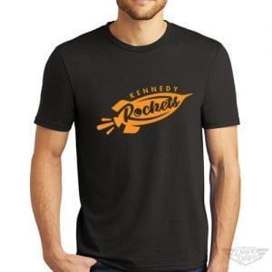 DogDayz Apparel - Tee - Kennedy Rockets - Men - Black