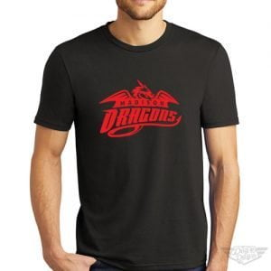 DogDayz Apparel - Tee - Madison Dragons - Men - Black