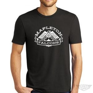 DogDayz Apparel - Tee - Mapleton Falcons - Men - Black