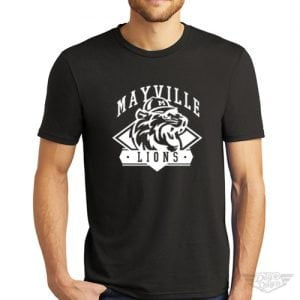 DogDayz Apparel - Tee - Mayville Lions - Men - Black