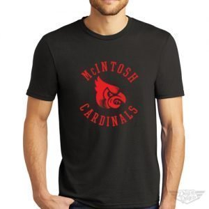 DogDayz Apparel - Tee - McIntosh Cardinals - Men - Black
