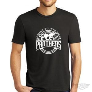 DogDayz Apparel - Tee- Norman County West Panthers - Men - Black